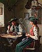 19th Century Painting by Emil Rau, Emil Rau, Click for value