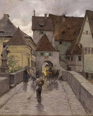 Albert Stagura (Dresden 1866-1947 Gstadt am