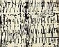 Cornelius Kolig (front mountain, K rnten, 1942 geb.) R ntgengrafik between 1961-63,  gel silver on Harfaserplatte, 79 x 95.5 cm, something besch digt, framed, (EK) E1.500-2.000  EURO, Cornelius Kolig, Click for value