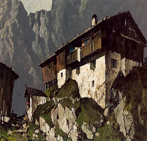 -Oskar Mulley(Klagenfurt 1891-1949 Garmisch)