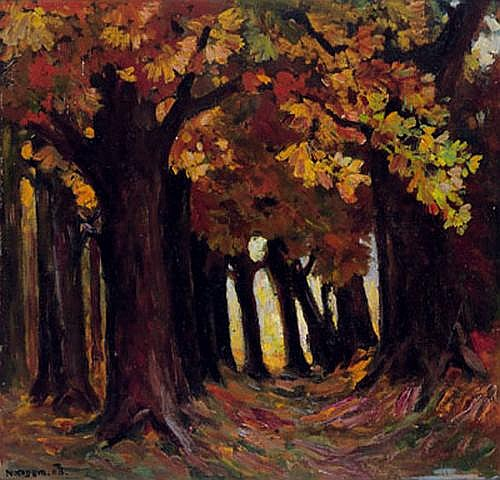 Artur Nikodem(Trient 1870-1940 Innsbruck) Forest