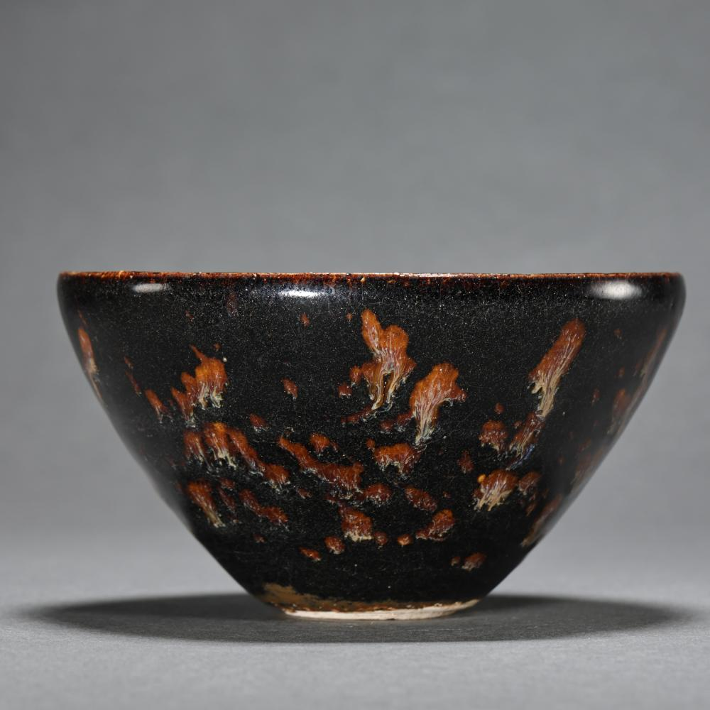 11TH CENTURY JIZHOU WARE CUP, SOUTHERN SONG DYNASTY, CHINA