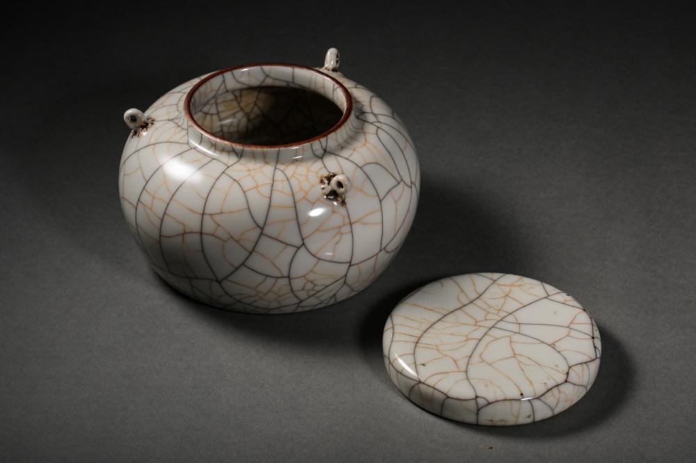 14TH CENTURY CHINA CHENGHUA YEAR DOUBLE-SERIES JAR