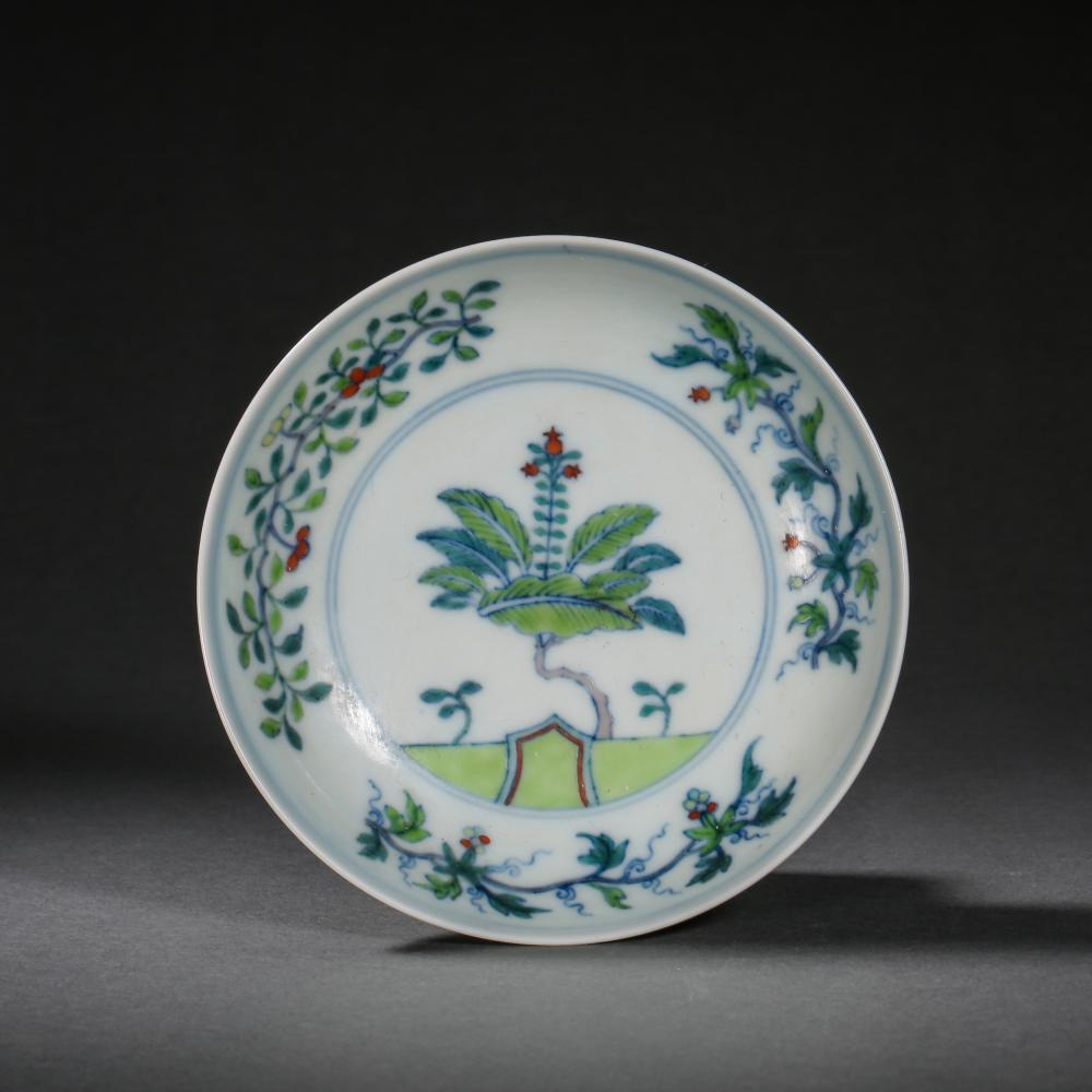 14TH CENTURY MING DYNASTY CHENGHUA, CHINESE PLATE