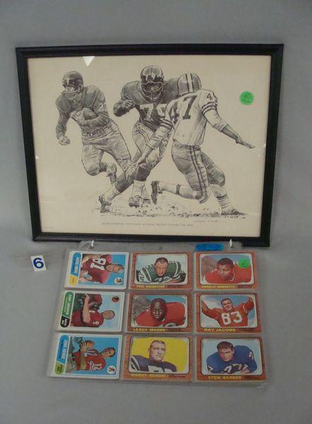 (48) 1960'S - 1970'S FOOTBALL CARDS