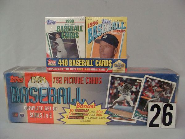 1994 TOPPS FACTORY BASEBALL CARD SET