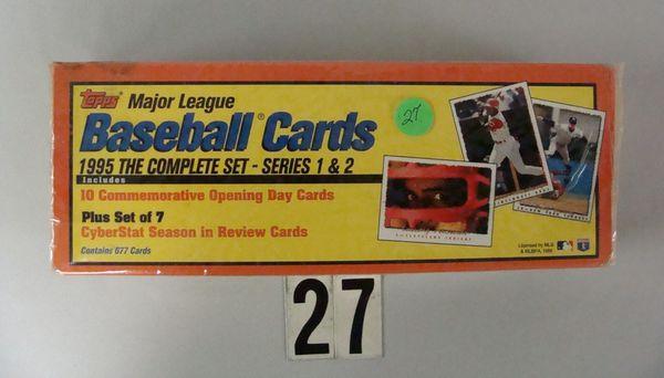 1995 TOPPS FACTORY BASEBALL CARD SET