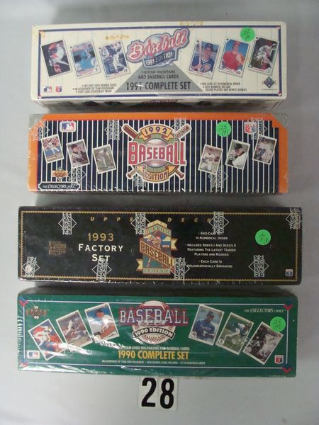 1990, 91, 92 & 93 UPPER DECK FACTORY