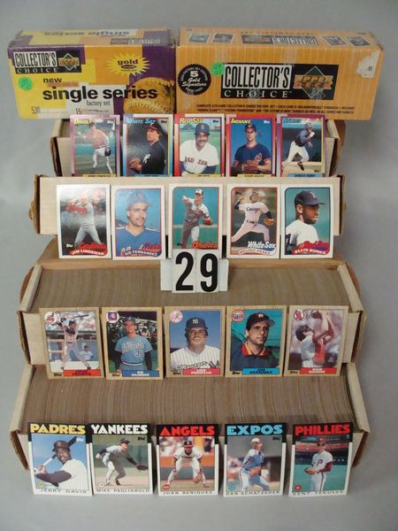 1994 & 1995 UPPER DECK FACTORY BASEBALL