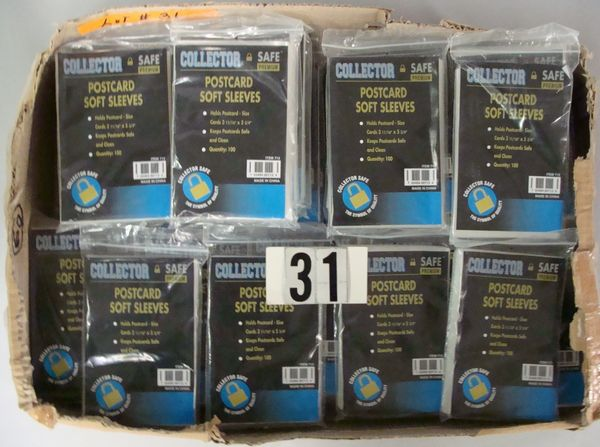 (60) COLLECTOR SAFE UNOPENED BAGS