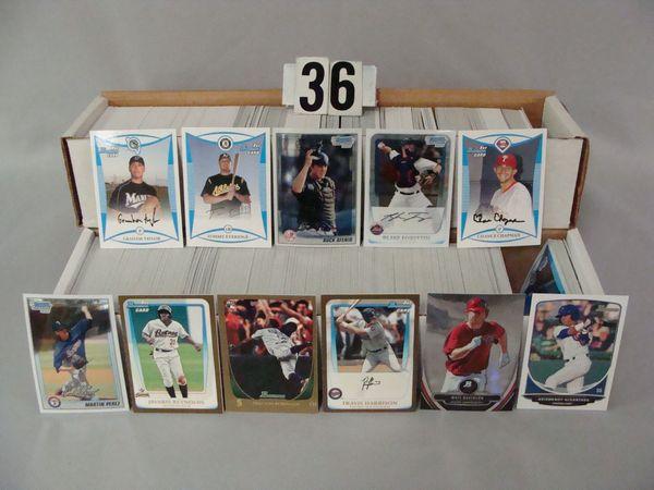 (2 BOXES - 1,000+ CARDS) BOWMAN CHROME