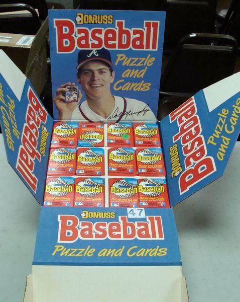 (1) COUNTER DISPLAY BOX OF 1988 DONRUSS
