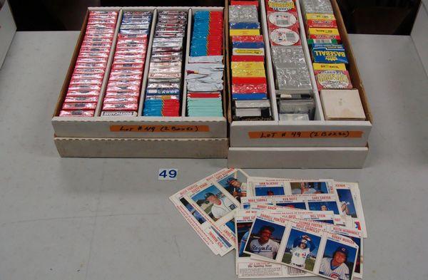 (1) FOUR ROW BOX WITH ASSTD. SMALL