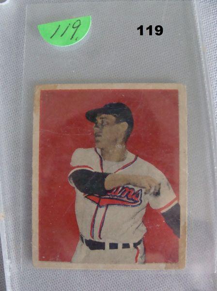 1949 BOWMAN #27 BOB FELLER,