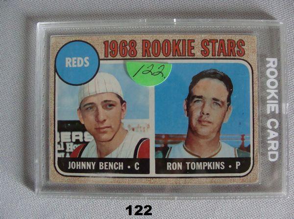 1968 TOPPS #247 (R) JOHNNY BENCH - VG