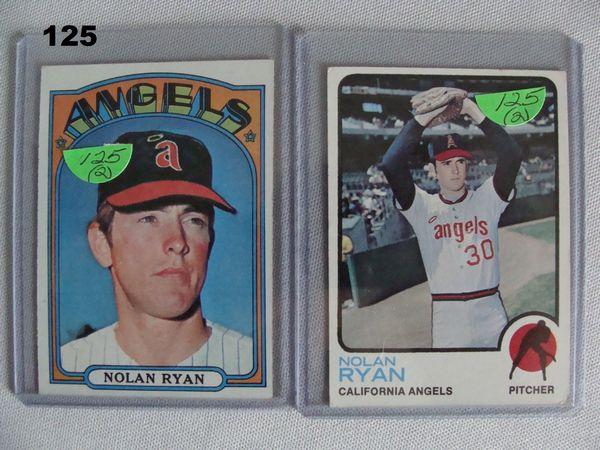 1972 & 1973 TOPPS N. RYAN #595 - EX