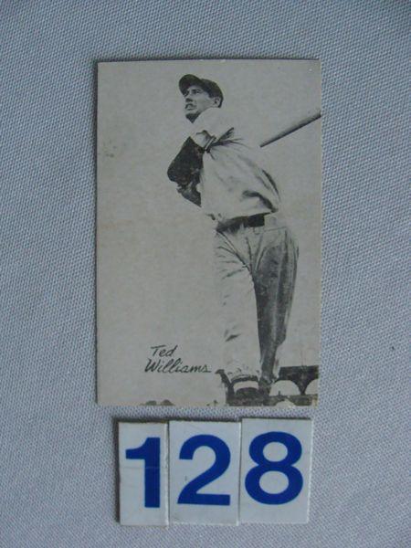 1947 BOND BREAD TED WILLIAMS - EX