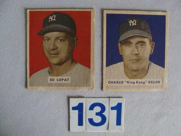 1949 BOWMAN BASEBALL HIGH NUMBERS: