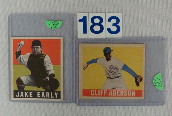 1949 LEAF #61 JAKE EARLY (R),