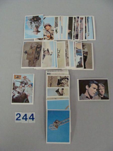 1966 TOPPS RAT PATROL CARD SET