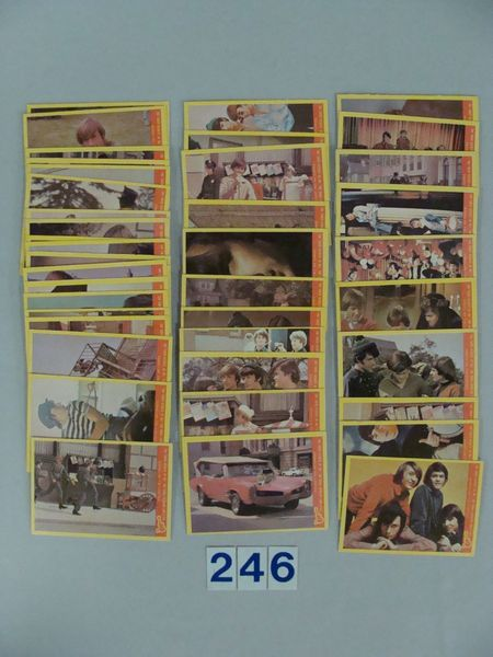 1967 RAYBERT PROD. INC. THE MONKEES CARD SET
