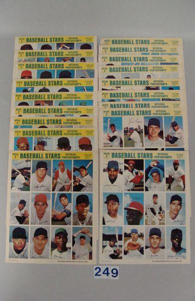 1969 MLBP ASSN. BASEBALL STARS & OFFICIAL