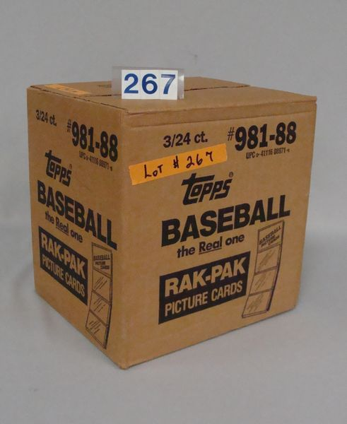 1988 TOPPS (UNOPENED) FACTORY CASE