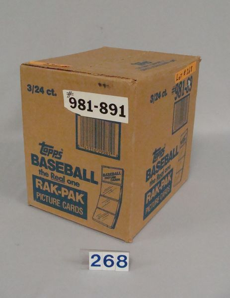 1989 TOPPS (UNOPENED) FACTORY CASE