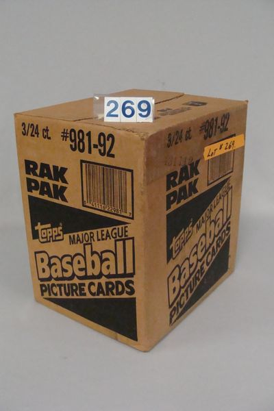 1992 TOPPS (UNOPENED) FACTORY CASE