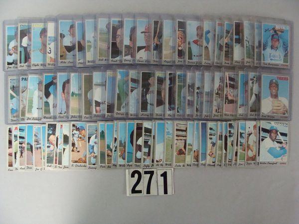 (175+) 1970 TOPPS BASEBALL CARDS