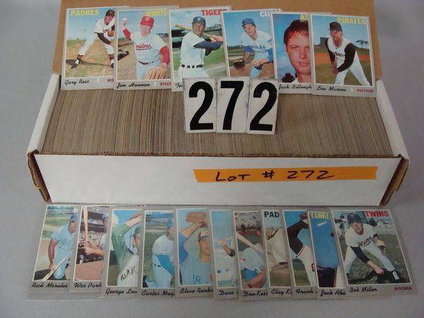 (600+) 1970 TOPPS BASEBALL CARDS