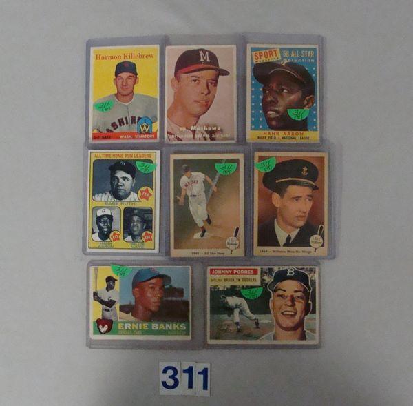 1956 TOPPS #173 J. PODRES - VG/EX,