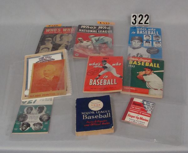 BOX OF ASSTD. VINTAGE SPORTS PUBLICATIONS