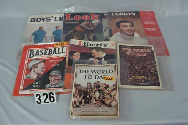 LOT OF VINTAGE PUBLICATIONS: THE WORLD