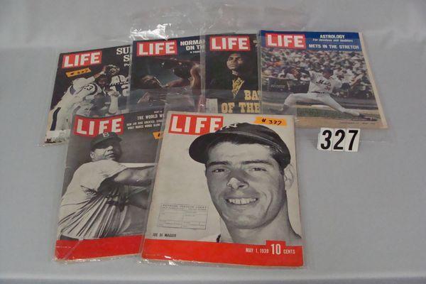 (6) LIFE MAGAZINES: MAY 1, 1939