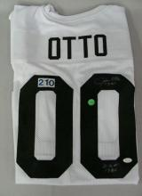 FOOTBALL JERSEY '00' AUTOGRAPHED BY JIM OTTO
