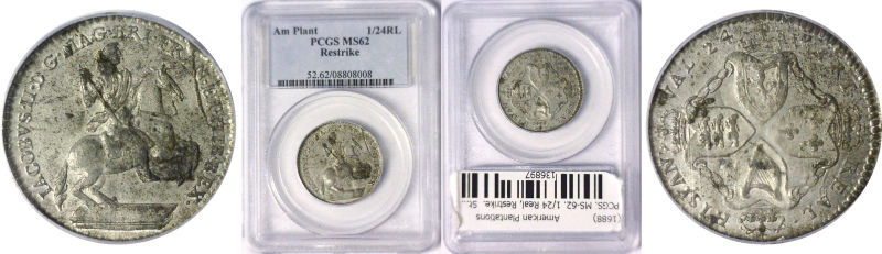 1688 Colonial Coinage