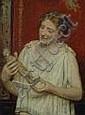 GEBHARDT, Eduard von (1838-1915): 'Römerin mit, Eduard