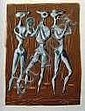 ZIMMERMANN, Mac (1912-95): Gouache, signiert,, Mac Zimmermann, Click for value
