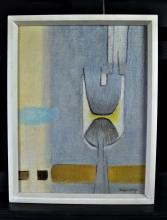 Signed painting Kolos-Vary (1899 - 1983). 34 x 25cm.