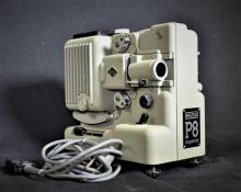 Eumig Austria film projector for substandard films in original packaging with leather carrying strap