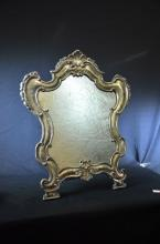 Mirror Louis XV. Wood and silver