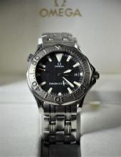 Wristwatch OMEGA America's Cup. Very good condition. With box and papers.