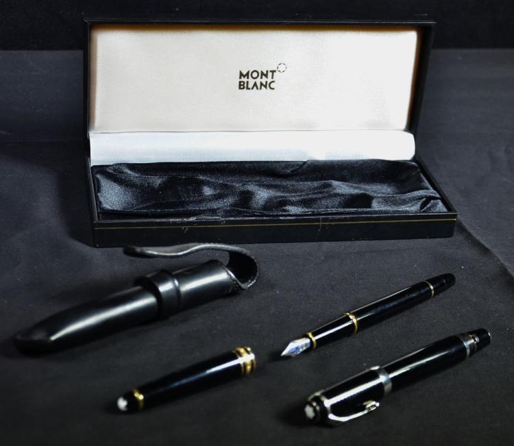 2 stylos mont blanc