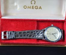 Steel wristwatch OMEGA - Seamaster Automatic in original box. Very good condition.