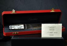 Watch in a form of letter opener CARTIER made of steel. Limited series, No. 18422000. With box. In...