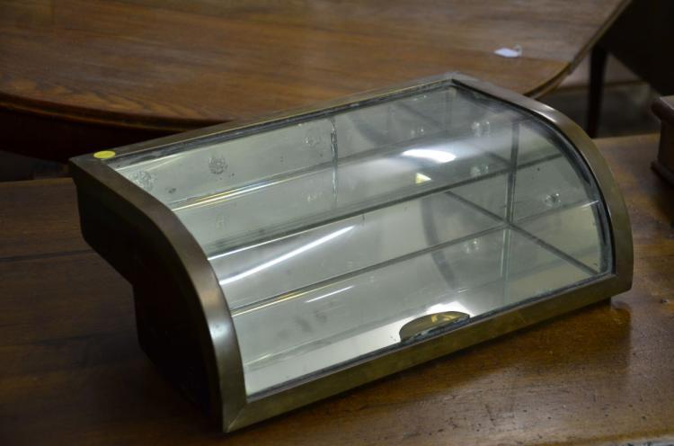Vitrine poser vitre bomb e et miroir int rieur h 15cml for Interieur 806