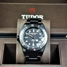 TUDOR  Black Bay Black  Chronograph with interchangable wristband. Automatic. Like new. Box and...