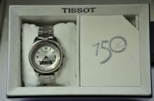 TISSOT Touch wristwatch with box and papers. Diameter 43 mm. Working.