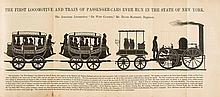 Brown (William H.) - The History of the first Locomotives in America,